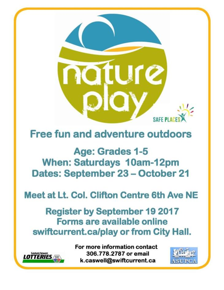FALL 2017 Nature Play Poster