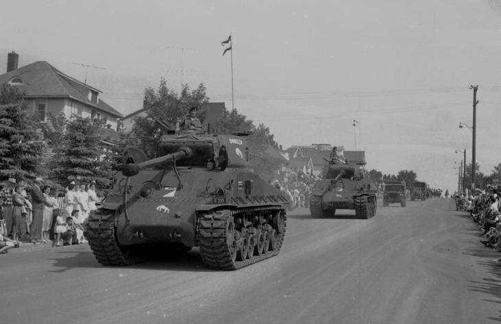 Tanks on Parade