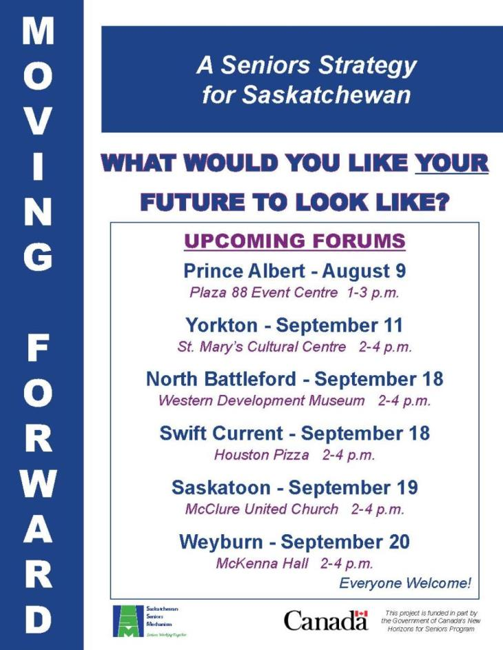 Province wide Seniors Strategy Forum Poster for email