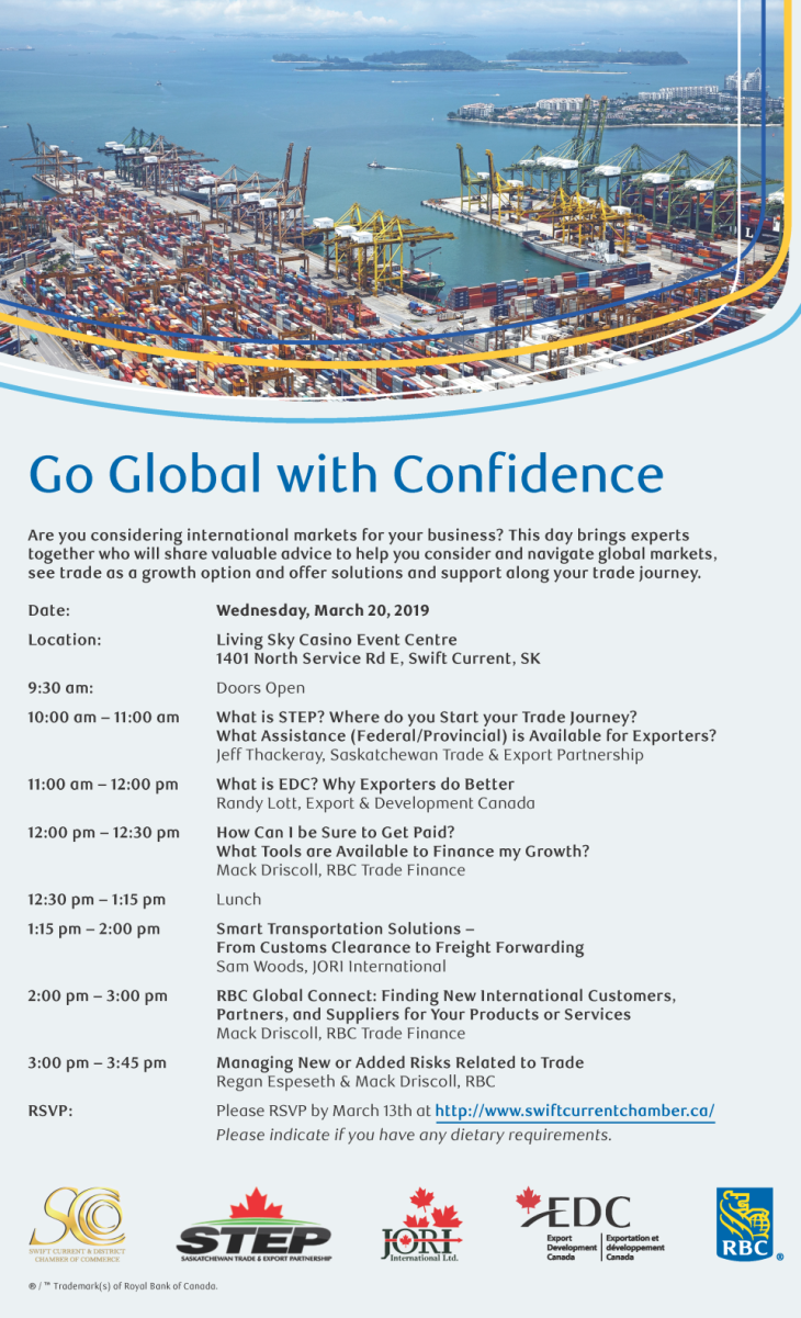 RBC-SC Chamber Global Event Poster