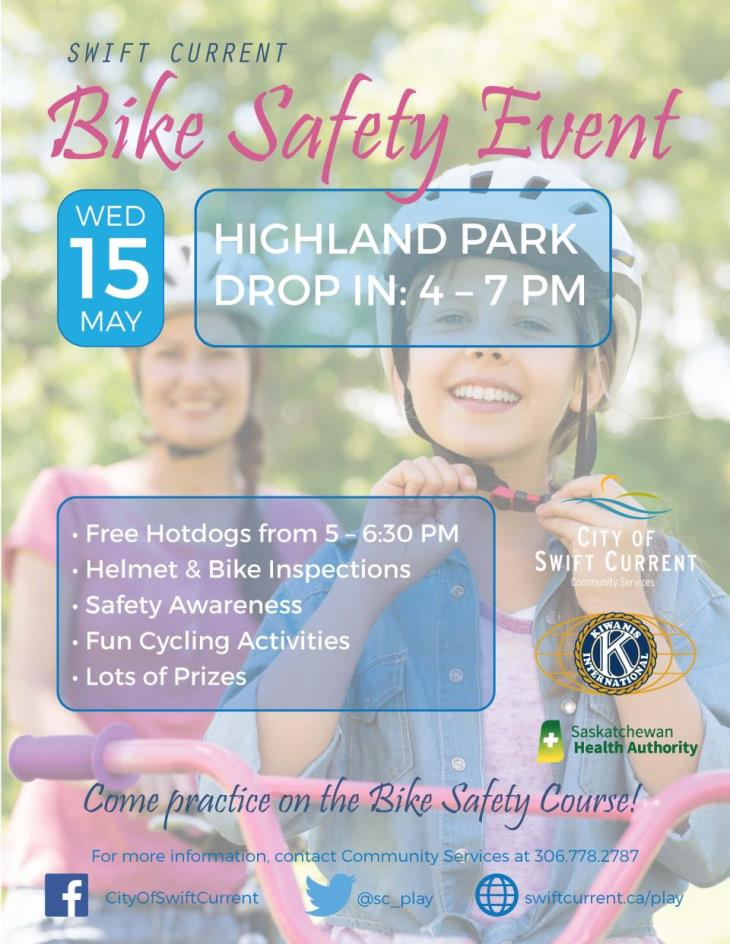 bike safety 2019 poster